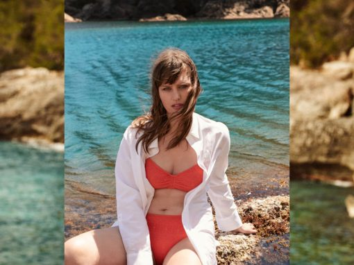 Violeta by Mango editorial in Costa Brava